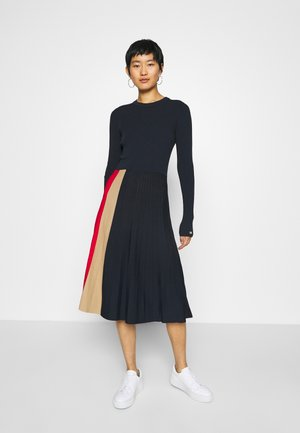 ICON PLEATED - Jumper dress - desert sky