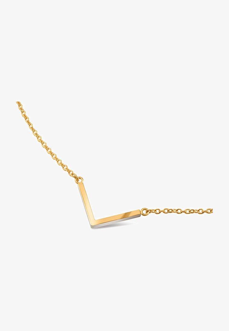 Boccia - Necklace - gelbgold