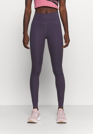ONE LUXE - Legging - dark raisin