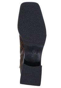 Ekonika - Ankle boots - zebra-oliv - 4