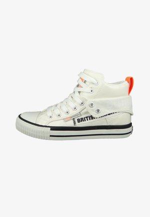 ROCO - High-top trainers - white neon orange