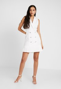 River Island - Shirt dress - ivory - 2