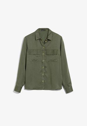 LALLY - Button-down blouse - grün