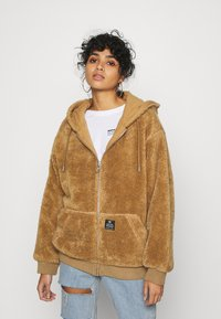 BDG Urban Outfitters - ROSIE HOODED - Zimní bunda - parchment - 0