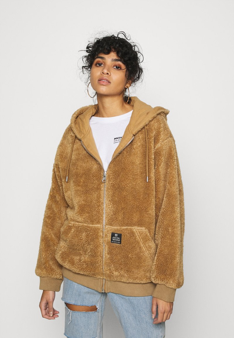 BDG Urban Outfitters - ROSIE HOODED - Zimní bunda - parchment