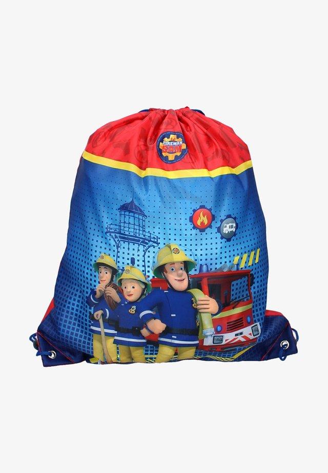 Drawstring sports bag - blau