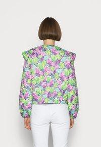 Cras - QUINCRAS JACKET - Light jacket - green/light blue/pink - 2