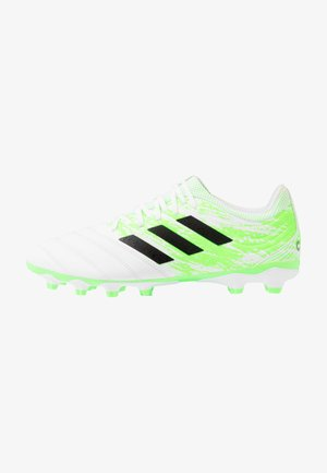 COPA 20.3 MG - Moulded stud football boots - footwear white/core black/signal green