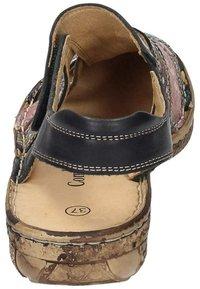 Comfortabel - Wedge sandals - schwarz/bunt - 2