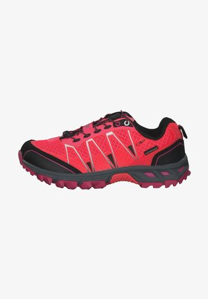 Hiking shoes - red fluo