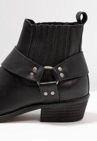 KIOMI - Cowboy/biker ankle boot - black - 5