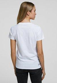KARL LAGERFELD - K/ZODIAC - VIRGO - T-Shirt print - white - 2