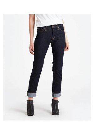 Jeans straight leg - stoned blue