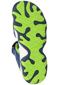 Superfit - Walking sandals - blue/green - 4