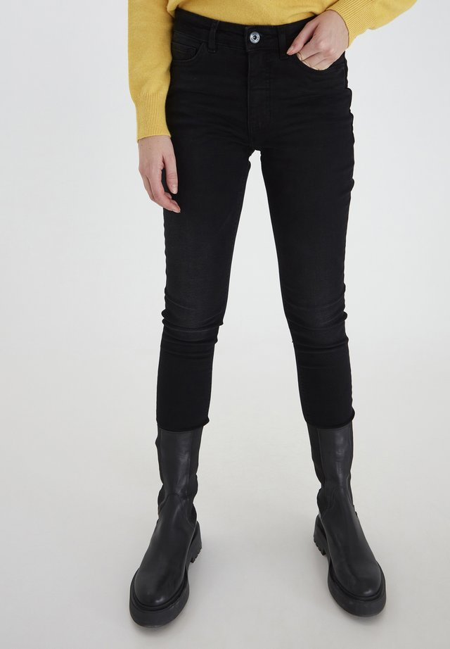 IHTWIGGY LULU - Jeans Skinny Fit - washed black