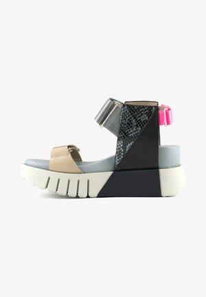 Wedge sandals - future