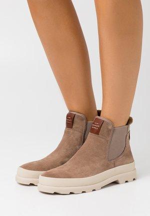 KAARI CHELSEA - Ankle boots - warm khaki