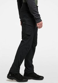 Haglöfs - MID FJELL PANT - Trousers - true black - 2