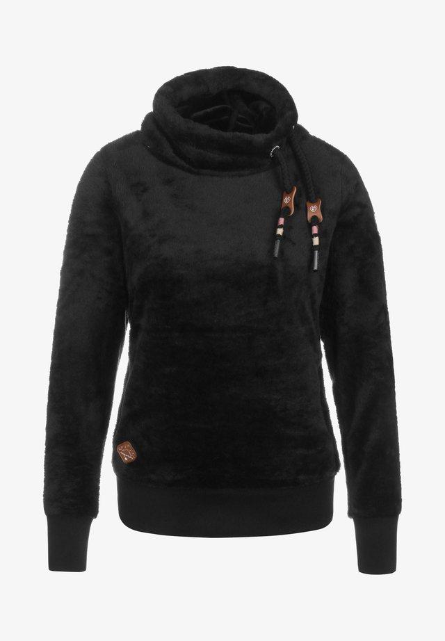 MENNY - Fleecetröja - black