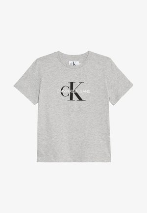 MONOGRAM LOGO - Print T-shirt - light grey heather