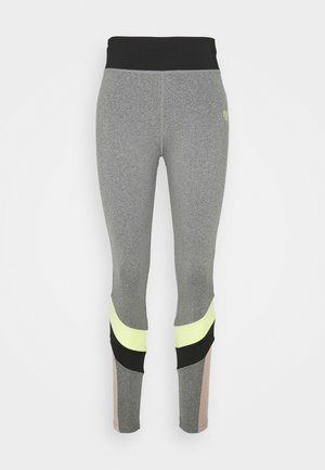 HAVANA - Leggings - grindle/black/sunny lime
