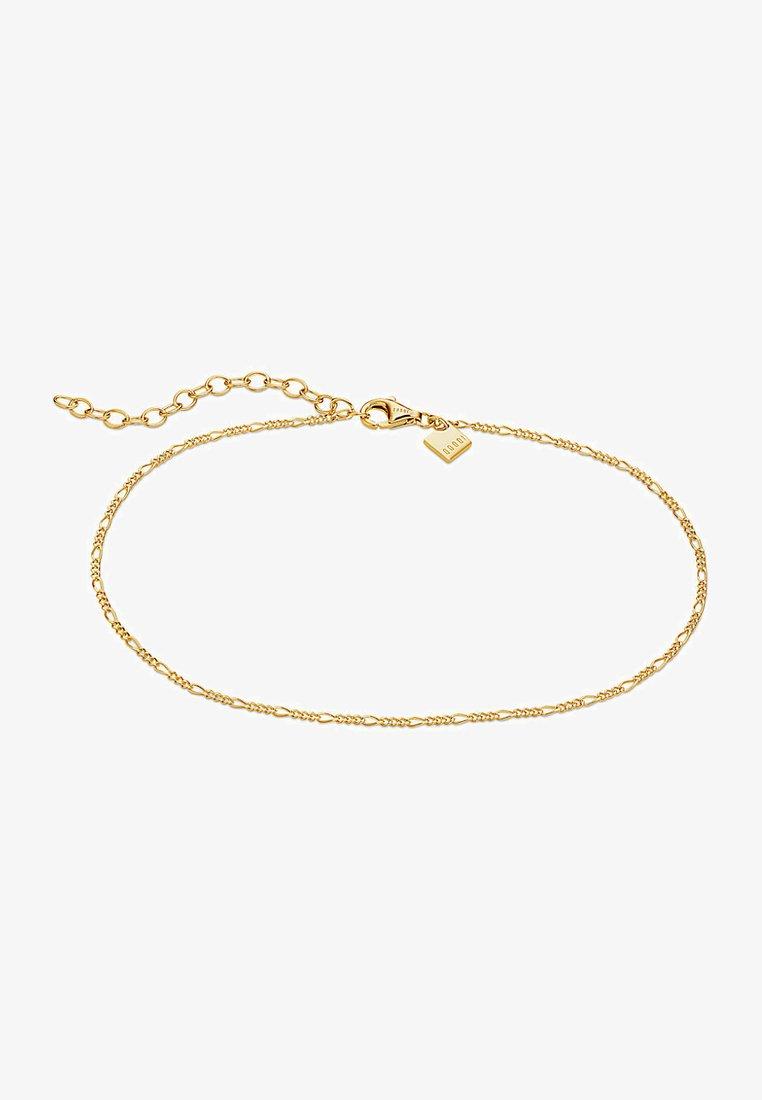 QOOQI - Fusskette - Bracelet - gelbgold