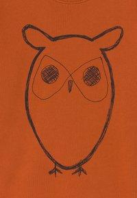 Knowledge Cotton Apparel - LOTUS OWL - Sweatshirt - orange - 2