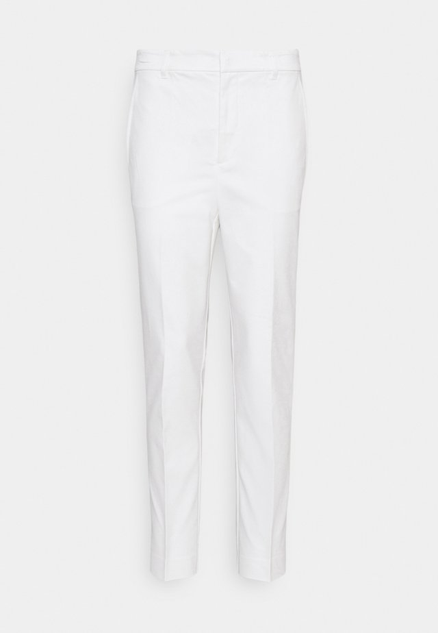 STRETCH PANT - Chino - white