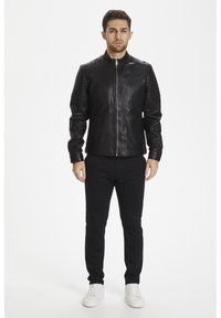 Matinique - Leather jacket - black - 1