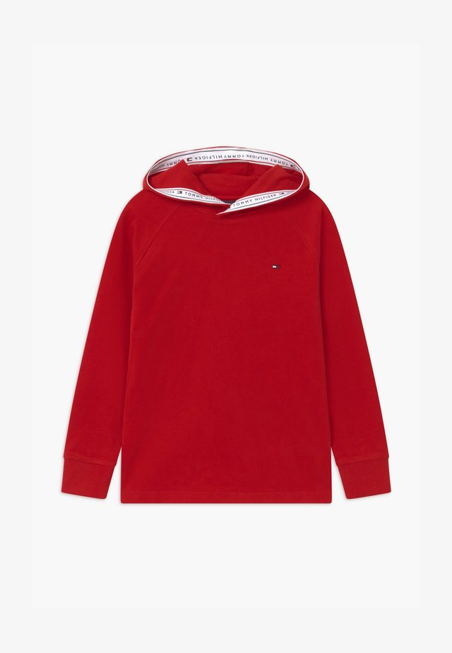 TAPE HOODIE - Jersey con capucha - red