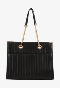 New Look - HUGO QUILTED TOTE - Tote bag - black - 4