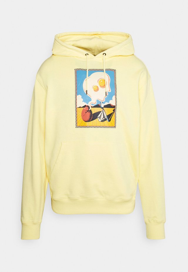 Sweatshirt - dawn yellow