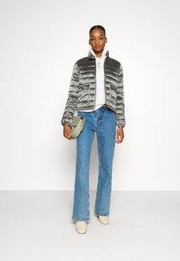Opus - HALISA - Light jacket - slate grey melange - 1