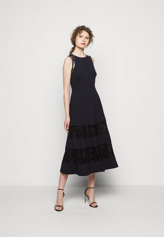 LUXE TECH DRESS - Cocktail dress / Party dress - lighthouse navy