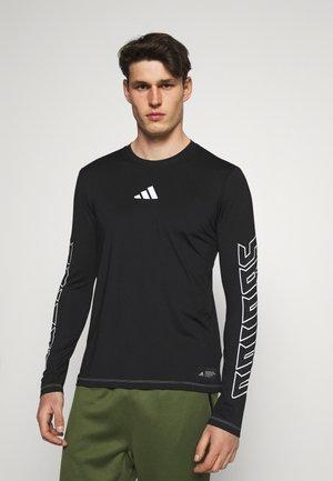 HYPE TEE - Camiseta de deporte - black