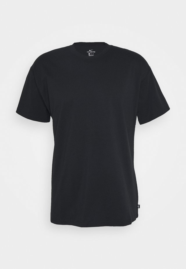 TEE ESSENTIAL UNISEX - Basic T-shirt - black