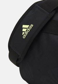adidas Performance - UNISEX - Borsa per lo sport - black/pulse yellow - 3