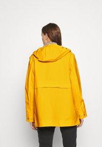 Hunter ORIGINAL - ORIGINAL SMOCK - Waterproof jacket - yellow - 2