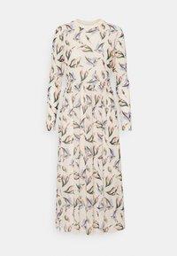 TOM TAILOR DENIM - PRINTED DRESS - Maxi dress - cream - 0