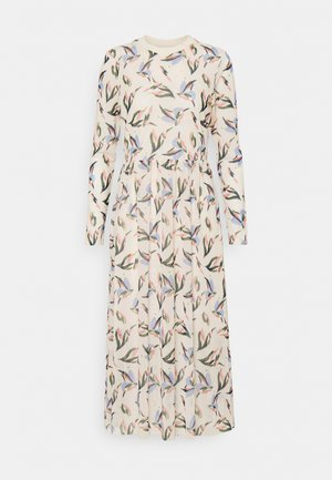 PRINTED DRESS - Maxi dress - cream