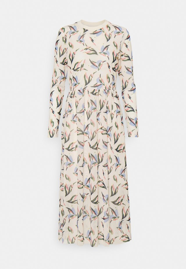 PRINTED DRESS - Maxi-jurk - cream
