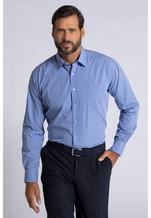 2 PACK - Formal shirt - blau/weiß