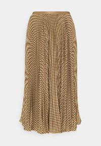 Polo Ralph Lauren - RESE SKIRT - Áčková sukně - brown/tan houndst - 0