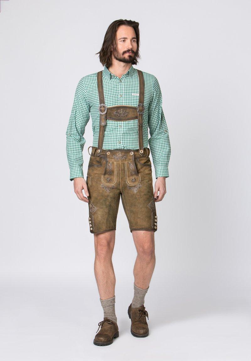 Stockerpoint - BEPPO - Shorts - brown