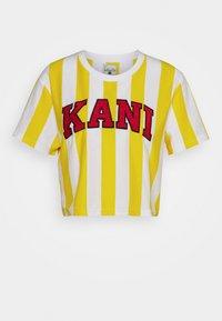 Karl Kani - SERIF STRIPE TEE - T-shirt print - white - 3