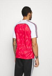 adidas Originals - Print T-shirt - white/red - 2