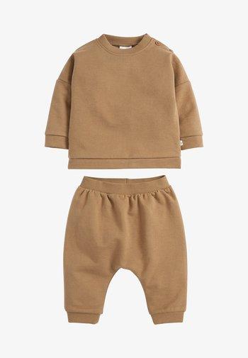 SET - Sweatshirt - khaki