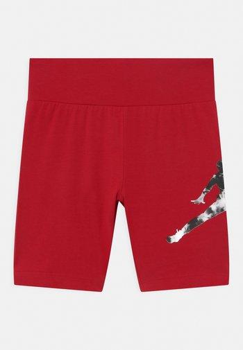 GIRL TIE DYE BIKER  - Leggings - gym red