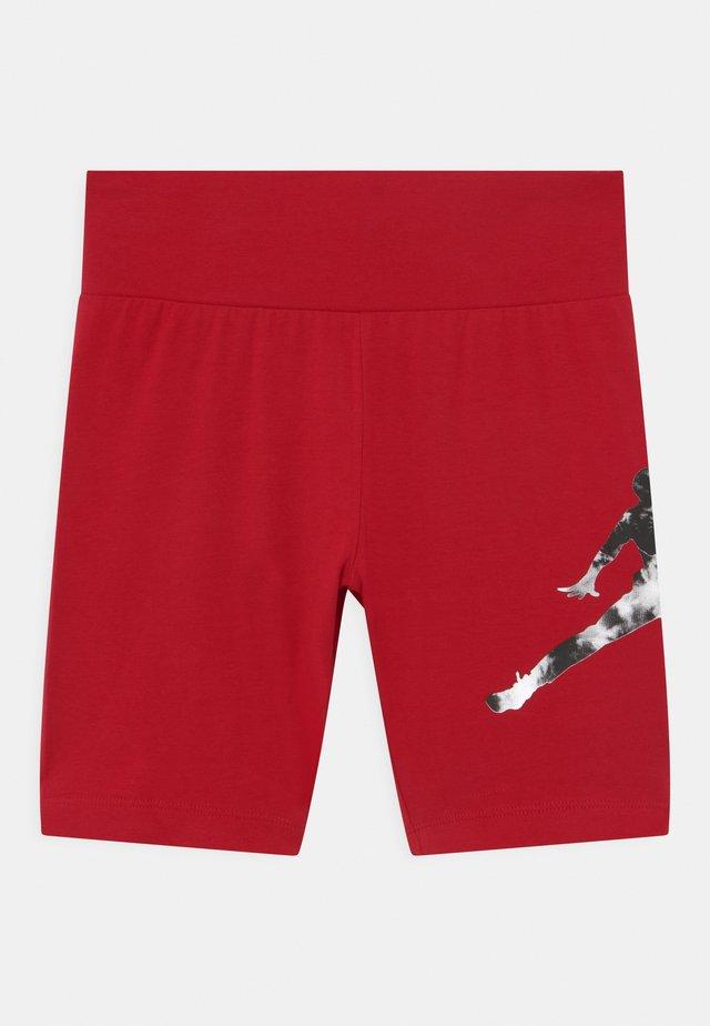 GIRL TIE DYE BIKER  - Legging - gym red