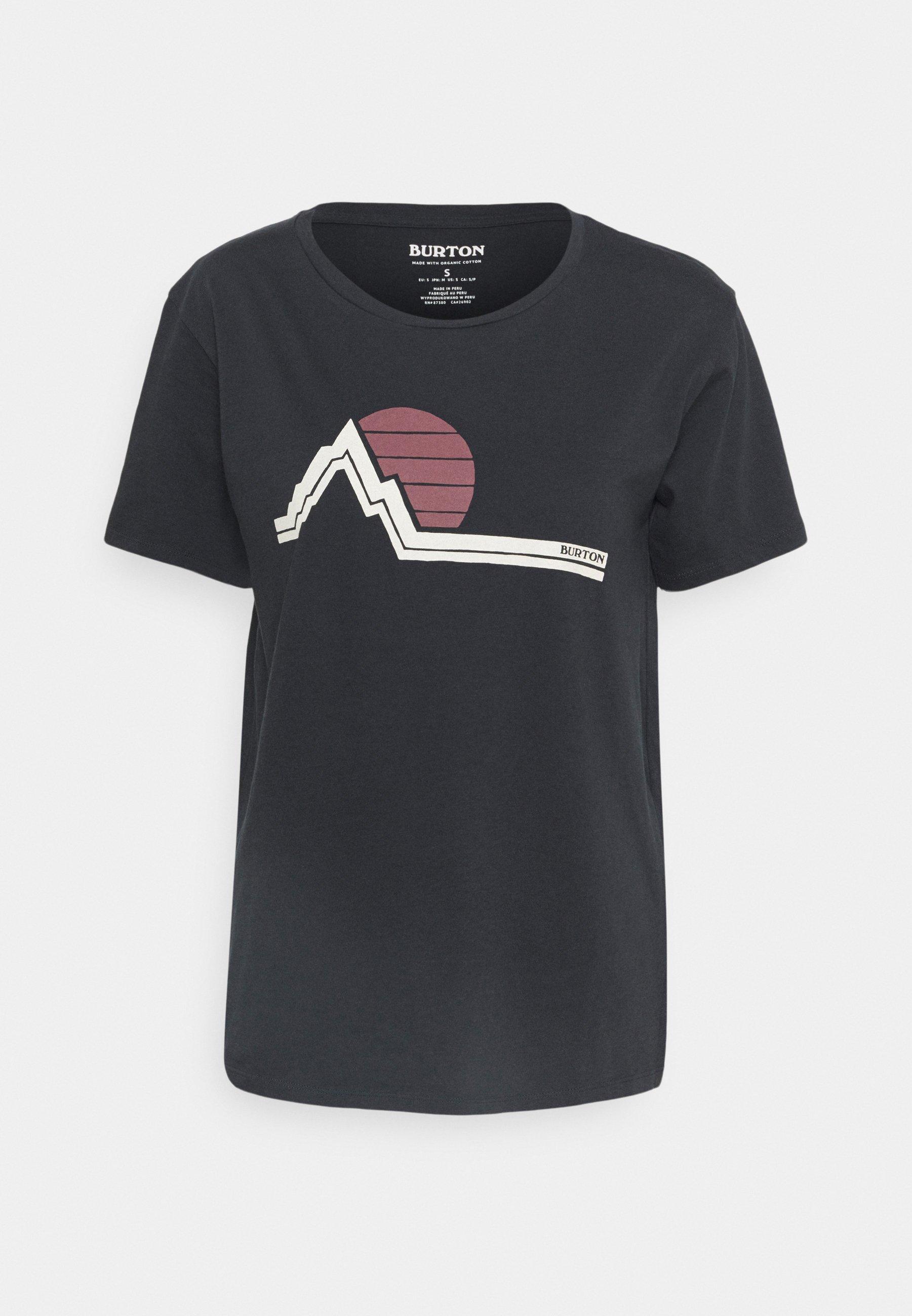 Donna CLASSIC RETRO SS TRUE BLACK - T-shirt con stampa